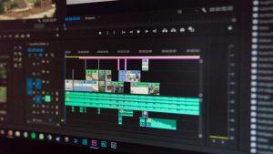 cos'è un software di video editing