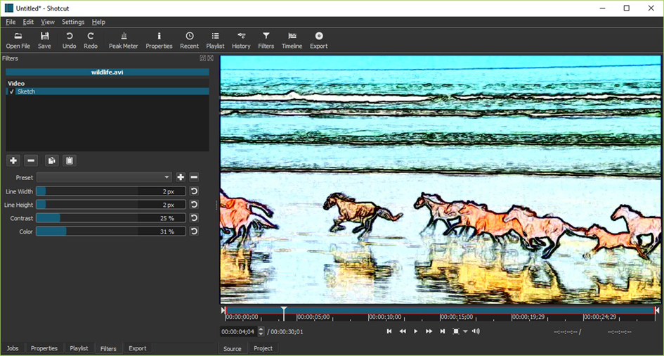 Video editing professionale con: ShotCut