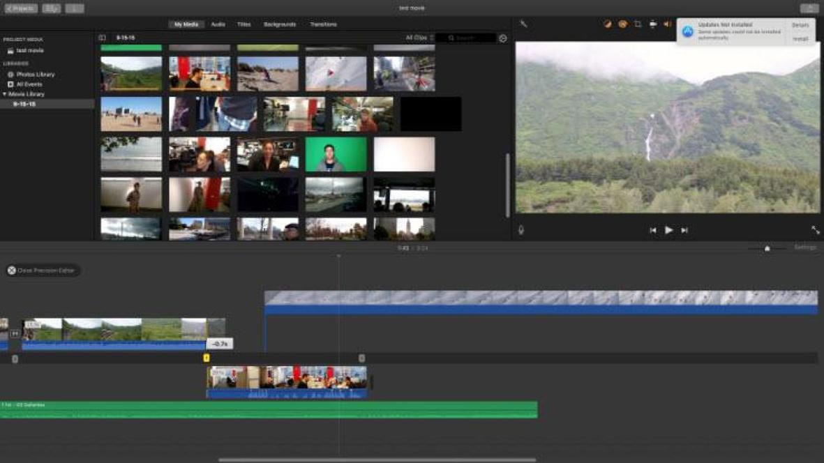 Montaggio video professionale con iMovie